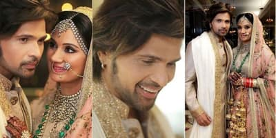 Check Out These Pictures From Himesh Reshammiya And Sonia Kapoor's Wedding!