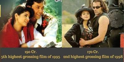 7 Highest Grossing Movies Of Bobby Deol After Adjusting For Inflation