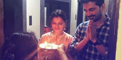 Pic: Rubina and Abhinav welcomed into their NEW LIVES!