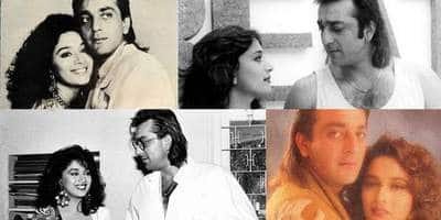 In Pics: The Alleged Love Story Of Sanjay Dutt And Madhuri Dixit