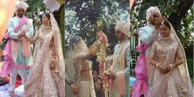 In Pictures And Videos: Shakti Actress Rubina Dilaik And Abhinav Shukla Tie The Knot!