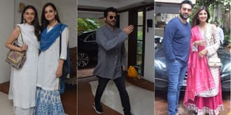 In Pictures: Bollywood Celebs At Shabana Azmi's Grand Eid Lunch!