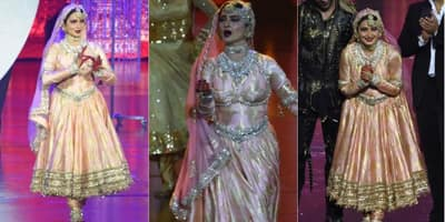 5 Things We Bet You Did Not Notice In Rekha's Performance At The 2018 IIFA Bangkok!