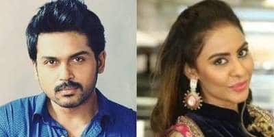 Sri Reddy Reacted On Karthi's Statement Regarding Casting Couch