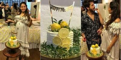 We Absolutely Loved Mira Rajput's Second Baby Shower, But What's With The 'Happy Pushing' Cake?