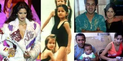 28 Rare Childhood And Modelling Pictures Of Katrina Kaif