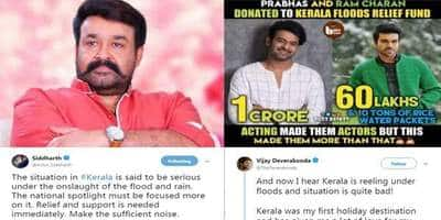 Actors From Tamil, Telugu and Malayalam Film Industry Come Together To Bring Relief To Flood Affected Kerala