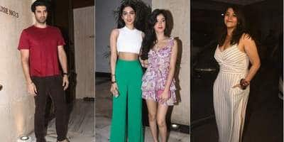 Bollywood Partied At The Night Of Independence Day, Courtesy Manish Malhotra!