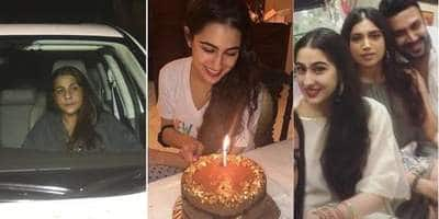 In Pics: Sara Ali Khan Celebrated Her Birthday With Mom Amrita Singh And Friends From Bollywood!