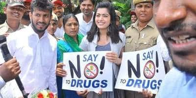 Rashmika Mandanna Wants To Raise Awareness On Drug Abuse By The Youth