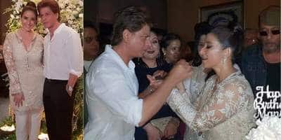 In Pictures: Dil Se Co-Stars Shah Rukh Khan And Manisha Koirala Had A Reunion!
