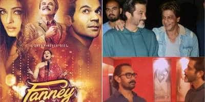 From Aamir To Shah Rukh, Its All About Fanney Khan For Bollywood On Twitter