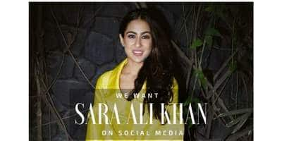 SAD: Sara Ali Khan Spills Cold Water On Fan Expectations Of Her Debuting On The Social Media!
