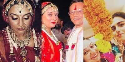 In Pictures: Baa Bahu Aur Baby Fame Sucheeta Tridevi's Wedding Was All About Happiness!