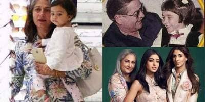 Bollywood Celebrities Who Became Grandparents Before The Age Of 50