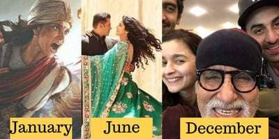 Bollywood 2019 Calendar: Biggest Bollywood Films Of Each Month In 2019