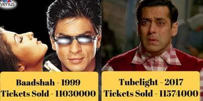14 Bollywood Films That Sold Over 1 Crore Tickets & Still Couldn't Be Called Hits