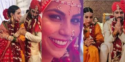 In Pictures: Baaghi 2 Actor Prateik Babbar Ties The Knot With Sweetheart Sanya Sagar!