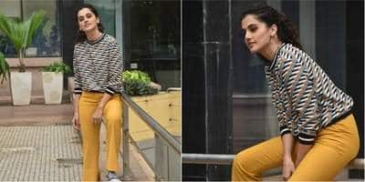 Taapsee Pannu Decides To Give Subtle Retro-Chic Vibes And So Should You, Of Course On A Budget