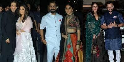 अमिताभ बच्चन और अनिल कपूर की दिवाली पार्टी में इस तरह चमके बॉलीवुड सितारे !