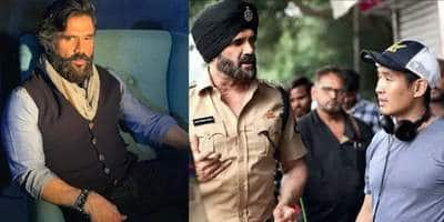 Suniel Shetty Starts Shoot For His Hollywood Film