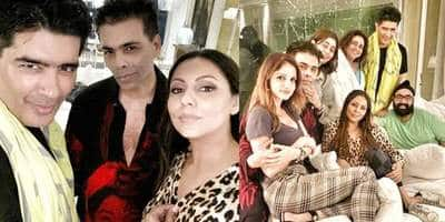 Shah Rukh Khan And Wife Gauri Party At Alibaug With Karan Johar, Suzanne Khan And Others! See Inside Pictures...