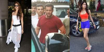 Spotted: Salman Khan Goes For Property Hunt, Disha Patani And Janhvi Kapoor Look Perfect In Athleisure!