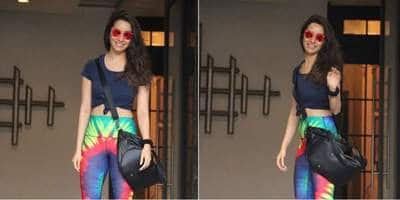Shraddha Kapoor's Gym Look Is Perfect To Add Some Color To You Athleisure Collection