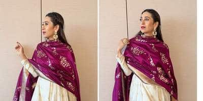 Karisma Kapoor's Gorgeous Festive Ensemble Is The Navratri Look You Will Thank Us For