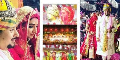 In Pictures: Mohena Kumari And Suyesh Rawat's Royal Wedding Is Straight Out Of A Sanjay Leela Bhansali Film