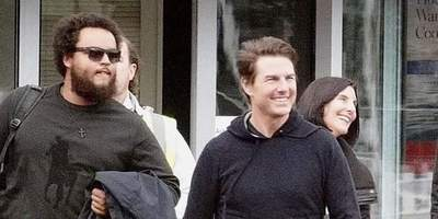 Tom Cruise Makes A Rare Appearance With His Son Connor Cruise In London