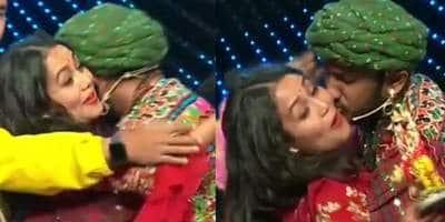 Was Neha Kakkar Forcibly Kissed?