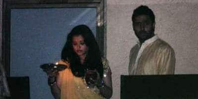 Unseen Video Of Abhi-Aish's First Karwa Chauth