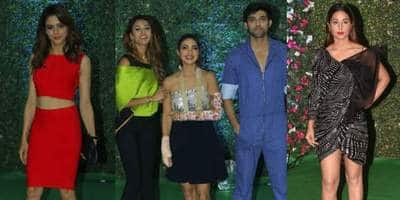 Ekta Kapoor's Party: Erica Fernandez And Parth Samthaan Pose Together, Aamna And Hina Make Heads Turn!