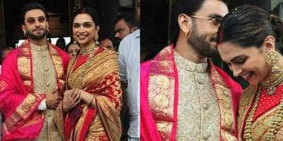 Deepika Padukone And Ranveer Singh Start Their Anniversary Celebrations With An Early Morning Visit To The Tirupati Temple