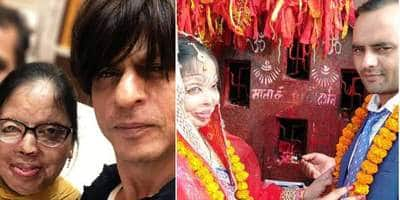 Shah Rukh Khan Sends His Love To Acid Attack Survivor Anupama On Her Wedding, Shares Pictures With Her