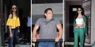 Spotted: Salman Khan Waves At His Fans, Katy Perry Leaves India