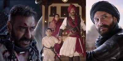 Tanhaji: The Unsung Warrior Trailer: Ajay Devgn Carries 'Surgical Strike' To Shake 'Mughal Empire', Saif Ali Khan And Kajol Stun Us!
