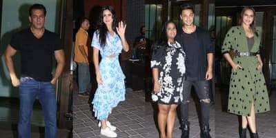 Salman Khan, Katrina Kaif, Jacqueline Fernandez And Others Attend Arpita-Aayush's Fifth Wedding Anniversary Bash!