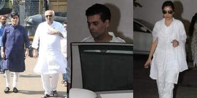 Designer Manish Malhotra's Father Passes Away, Karan Johar, Boney Kapoor Reach His Residence!