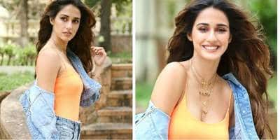Here's How To Get Disha Patani's Sexy Denim On Denim Look