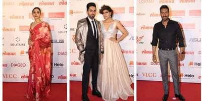 Deepika, Ayushmann And Other Bollywood Celebs Look Runway Ready For Lokmat Most Stylish Award