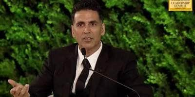 HTLS 2019: Akshay Kumar Reveals His Father Beat Him Up For Failing In The 7th Standard, He Told Him He'll Be A Hero