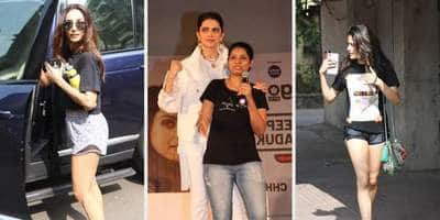 Celebs Spotted: Deepika And Vikrant Promote Chhapaak, Janhvi  And Malaika Raise The Heat At The Gym!
