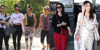 Spotted: Malaika Sweats It Out With Her Gang, Kareena, Janhvi Make Heads Turn At The Airport!