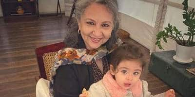 Sharmila Tagore Rings In Her 75th Birthday With Granddaughter Inaaya And Pancakes, Soha Ali Khan Shares Photos