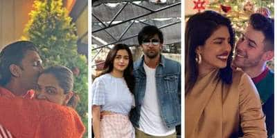 Bollywood Lovebirds Made This Christmas All Lovey-Dovey With These Goal Worthy Pictures