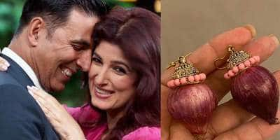 Akshay Kumar Gifts Twinkle Khanna A Pair Of Onion Earrings, She Is Touched By The Silly Gesture