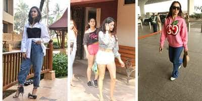Spotted: Deepika Padukone Continues To Promote Chhapaak, Janhvi Kapoor And Sara Ali Khan Give Fitness Goals