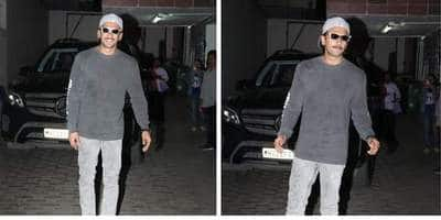 Ranveer Singh's Super Chill Athleisure Look Has Your Name Written On It